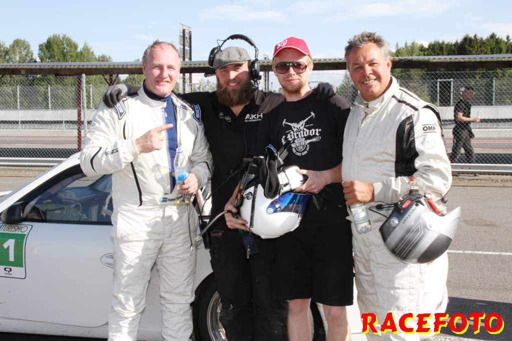 Autoropa Racing Days Mantorp Park med Swedish GT.