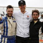 Pallen G20-klassen Race 2 fr v: Alexander Holmberg, Otto Gullberg och Kalle Berggren.
