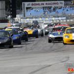 Starten i Race 1.